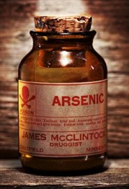 arsenic poison bottle