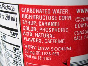 Sugar-free Coke?