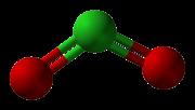 Cloro-dióxido-de-3d-bolas Xtal