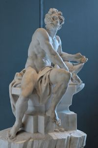 Hephaestus was the God of fire and metalworking; according to legend he was lame.