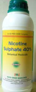 Nicotine pesticide
