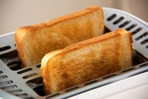 Your toast almost certainly isn't going to kill you.