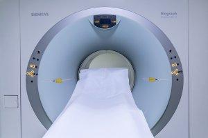 Photo of MRI equipment